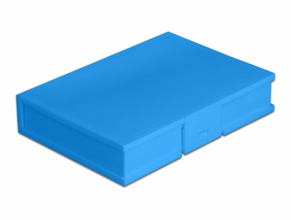 "Carcasa de protectie pentru HDD / SSD 3.5"" Albastru, Delock 18373"