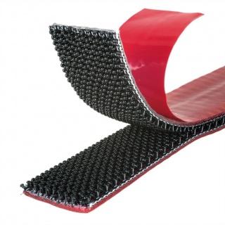 Alfa-Lok Fastener hook tape 25mm x 3m Negru, Velcro VEL-PS20022