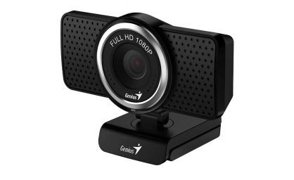 Camera web Full-HD cu microfon ECam 8000, Genius 32200001400