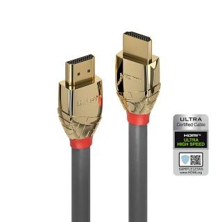 Cablu Ultra High Speed HDMI 10K@120Hz Gold Line T-T 1m, Lindy L37601