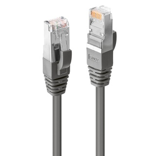 Cablu de retea CROMO Cat.6 S/FTP 2m Gri, Lindy L47213