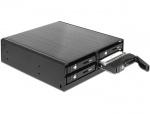 """Rack Mobil pentru 4 x HDD SATA/SSD 2.5"""", Delock 47220"""