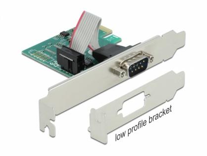 PCI Express la 1 x Serial RS-232, Delock 90006