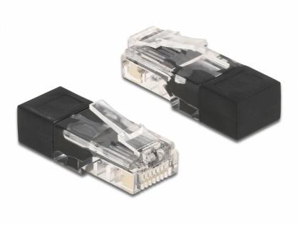 Conector RJ45 cu resistor, Delock 66807