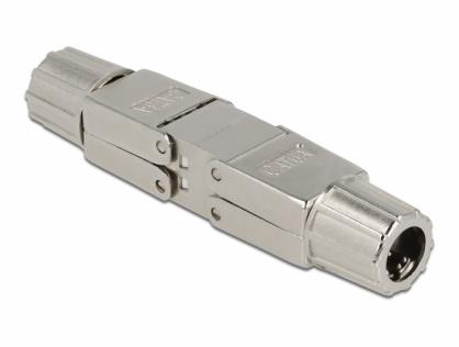 Cupla pentru cablu de retea Cat.6A STP toolfree, Delock 86976