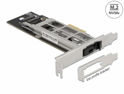 Mobile Rack PCI Express cu 1 x M.2 NMVe SSD, Delock 47003