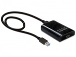Adaptor USB 3.0 la HDMI cu sunet, Delock 61943