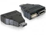 Adaptor Power Over eSATA la 1x eSATA si 1x USB, Delock 65119