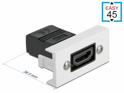 Modul Easy 45 HDMI 4K60Hz M-M 22.5 x 45 mm, Delock 81303
