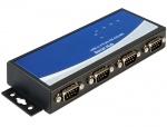 Adaptor USB la 4 x serial RS-422/485, Delock 87587