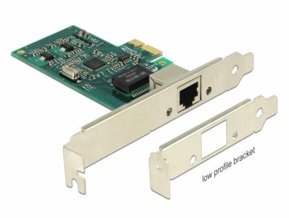PCI Express la 1 x Gigabit LAN chipset Intel 82574L, Delock 89943