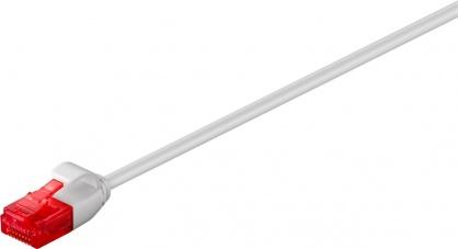 Cablu de retea RJ45 UTP cat 6 Slim 15m Gri, Goobay 93735