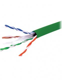 Rola cablu de retea RJ45 305m UTP cat.6 CU Verde, A0057585