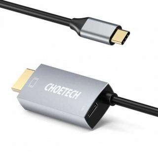 Cablu audio video USB type C la HDMI 4K@60Hz PD 60W T-T 1.8m, CABLE-USBC/HDMI-CHM180/1.8-CHO