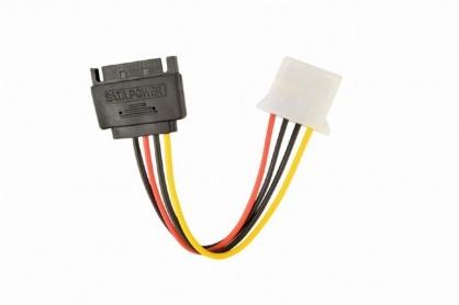 Cablu de alimentare SATA la Molex T-M 0.15m, Gembird CC-SATA-PS-M