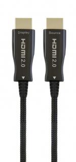 Cablu activ optic HDMI 4K@60Hz T-T 80m Negru, Gembird CCBP-HDMI-AOC-80M
