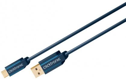 Cablu USB 3.1-C la USB-A T-T 3m, Clicktronic CLICK45126