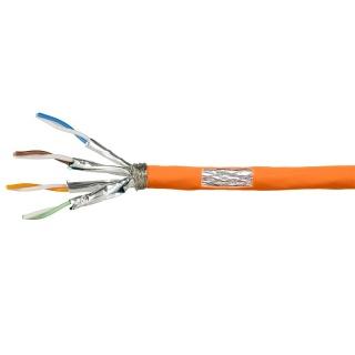 Rola cablu de retea RJ45 Cat.7 S / FTP 25m Orange, Logilink CPV0058
