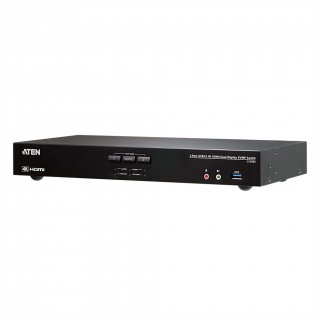 Switch KVM 2-Port USB 3.0 4K HDMI Dual Display, ATEN CS1842