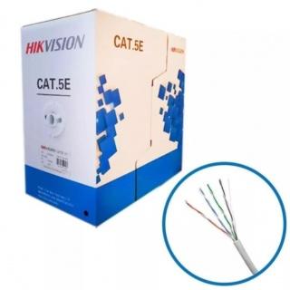 Rola cablu de retea RJ45 CAT5E UTP 305m fir solid, Hikvision DS-1LN5E-E/E