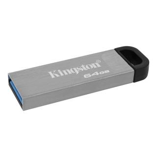 Stick USB 3.2 DataTraveler Kyson 64GB Metalic, Kingston DTKN/64GB