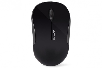 Mouse wireless optic A4Tech Negru, G3-300N-BK (include timbru verde 0.1 lei)
