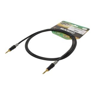 Cablu audio jack stereo 3 pini T-T 3m, HICON HBA-3S-0300