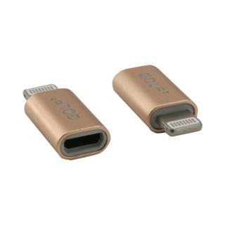 Adaptor micro USB-B la Lightning M-T, GC-31