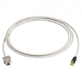 Cablu prelungitor Cat.6A SFTP cu cablu Cat.7 10m T-M Gri, K7F1-1000-GR