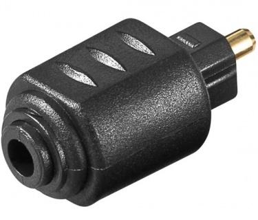 Adaptor mini Toslink la optic Toslink SPDIF M-T, kjtosred09