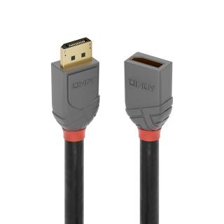 Cablu prelungitor Displayport Anthra Line 8K@60Hz T-M 0.5m, Lindy L36495