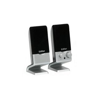 Boxe 2.0 2 x 0.6W USB Negru-Silver, Edifier M1250
