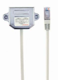 Adaptor in Y RJ45 FTP cat 5e, Gembird NCA-SP-02