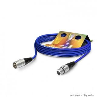 Cablu prelungitor XLR 3 pini T-M Albastru 10m, SGHN-1000-BL