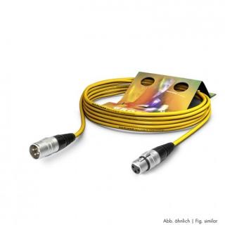 Cablu prelungitor XLR 3 pini T-M Galben 20m, SGHN-2000-GE