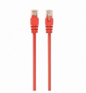 Cablu de retea RJ45 cat 5e UTP 0.25m Rosu, Spacer SP-PT-CAT5-0.25M-R