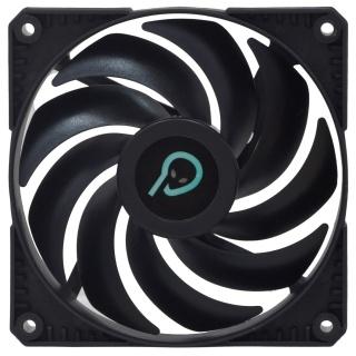 Ventilator Hydraulic Bearing 120mm Negru, Spacer SPFC-120-3P