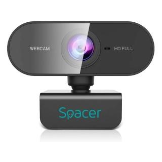 Camera web 1080p Full-HD, Spacer SPW-CAM-01
