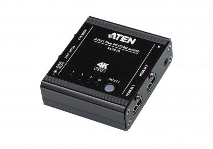 Switch HDMI True 4K 3 porturi cu HDR, ATEN VS381B