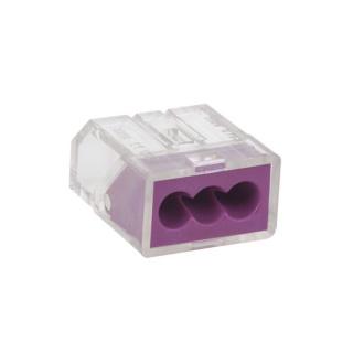 Conector universal 3 fire 0.75 - 2.5mm, ZLA0952