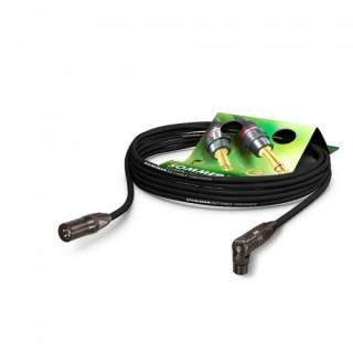 Cablu prelungitor XLR T-M unghi 90 grade 5m, Hicon SG0E-0500-SW