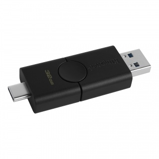 Stick USB 3.2-A + type C 32GB DataTraveler Duo, Kingston DTDE/32GB