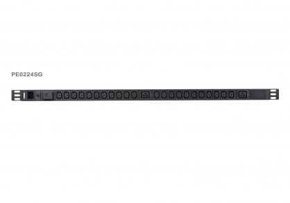 Prelungitor PDU 0U Basic IEC320 C20 la 22 x C13 + 2 x C19, ATEN PE0224SG