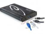 "Rack extern HDD 2.5"" SATA la Multiport USB 3.0 + eSATAp, Delock 42488"