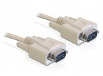 Cablu serial RS-232 DB9 T-T 5m, Delock 82982