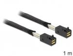 Cablu Mini SAS HD SFF-8643 la Mini SAS HD SFF-8643 1m, Delock 83387