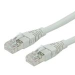 Cablu de retea UTP cat 6a Gri 0.5m, Roline 21.15.1660