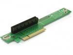 Riser card PCI Express x8 unghi 90 insertie stanga, Delock 89104